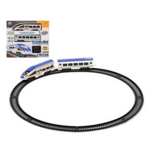 Tren com Circuito 118224 Azul Branco