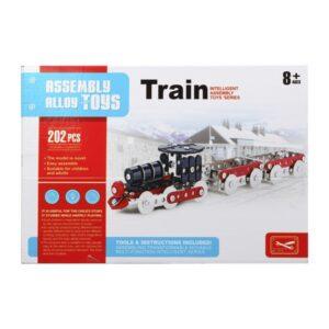 Jogo de Construção 117561 Comboio (202 Pcs)