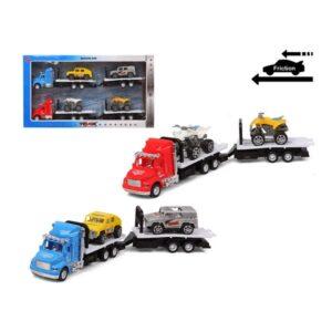 Camião Portaveículos e Carros de Fricção 119268 (Pack de 2)