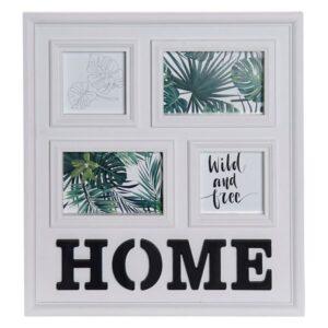 Moldura de Fotos Dekodonia Home Tropical (39 x 2 x 45 cm)