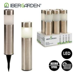 Lâmpada Solar Ibergarden Aço Polipropileno (PP)