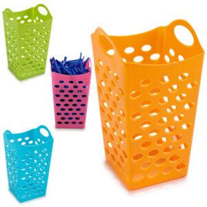 Cesta Multiusos Plástico (13 x 16,5 x 13 cm)