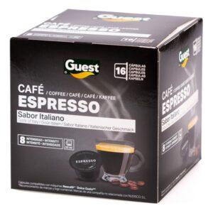 16 Cápsulas de café Espresso Guest