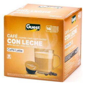 16 Cápsulas de café Latte Guest