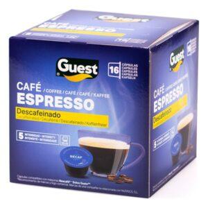 16 Cápsulas de café Espresso Guest Descafeinado (16 uds)