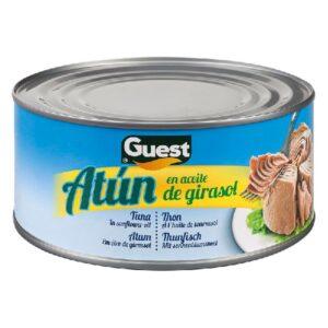 Atum em óleo de girassol Guest (900 g)