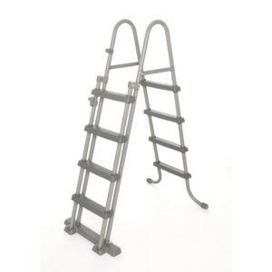 Escada de segurança p/ piscina 4 degraus Flowclear 122cm 58331 - PORTES GRÁTIS