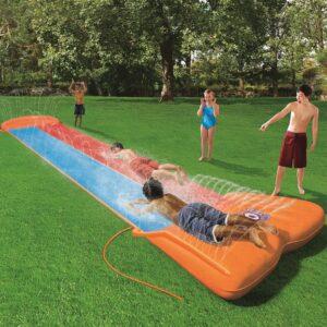 Bestway Escorrega aquático H2OGO Double Slide 52255 - PORTES GRÁTIS