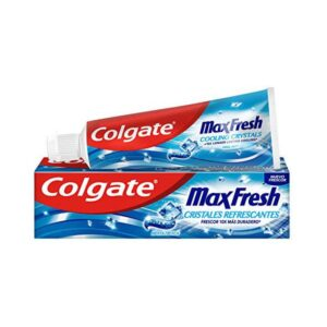 Pasta de Dentes Hálito Fresco Colgate Max Fresh Azul (75 ml)