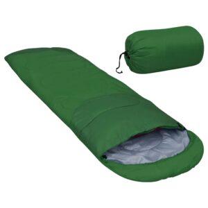 Saco-cama leve 15 ℃ 850 g verde - PORTES GRÁTIS