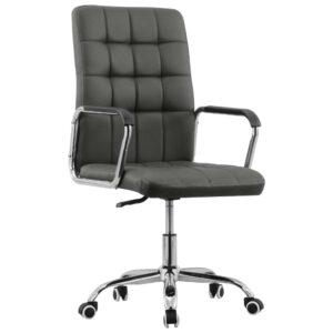 Cadeira de escritório giratória tecido antracite - PORTES GRÁTIS