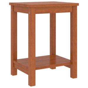 Mesa de cabeceira 35x30x47 cm pinho maciço castanho mel - PORTES GRÁTIS