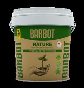 Barbot Tinta Acabamento Interior BRANCO Barbot Nature 15 L ( Poupança de 2kg de CO2 em cada 15lt )