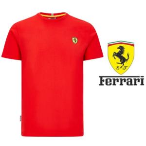 Ferrari® Camisola Scuderia Classic Crew F1- Tamanho M