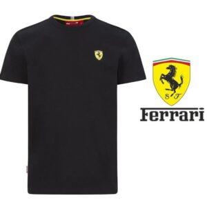 Ferrari® Camisola Classic Crew Preto - Tamanho M