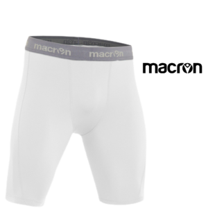 Macron® Calções para Prática de Desportos - Branco