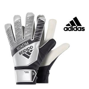 Adidas® Luvas Junior Predator Training Prata Metálico   Tamanho 7