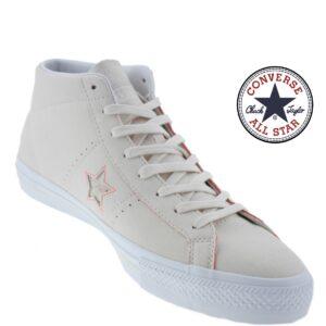 Converse® Sapatilhas All Star Pro Natural Hyper Orange White - Tamanho 41