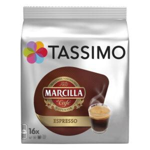 16 Cápsulas de café Espresso Marcilla