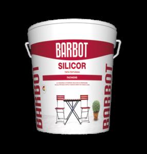 Barbot Tinta TEXTURADA Acabamento Exterior BRANCO Silicor 15 L ( ideal para pintura de fachadas )