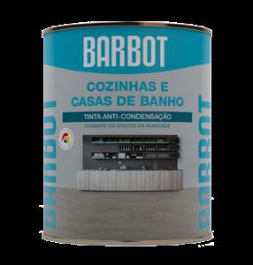 Barbot Tinta Acabamento Cozinhas E Casas De Banho BRANCO Barbot 0,75 L