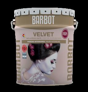 Barbot Tinta Acabamento Interior BRANCO Velvet 15 L