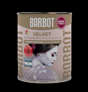 Barbot Tinta Acabamento Interior BRANCO Velvet 1 L