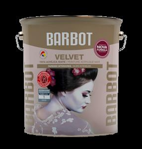 Barbot Tinta Acabamento Interior BRANCO Velvet 5 L