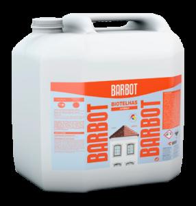 Barbot Removedor De Fungos E Algas Biotelhas 5 L ( eficaz na lavagem de telhados , pedras e fachadas )