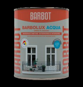 Barbot Esmalte Acabamento Interior E Exterior BRANCO Barbolux Acqua 1 L
