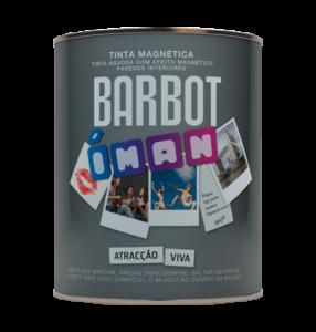 Barbot Tinta Acabamento Interior CINZENTO ÍMAN 0,75 L ( possível colocar ímans )
