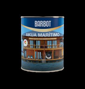 Barbot Verniz Acabamento Exterior INCOLOR Akua Marítimo 0,75 L