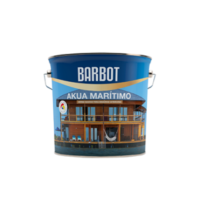 Barbot Verniz Acabamento Exterior INCOLOR Akua Marítimo 2,5 L