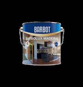 Barbot Verniz Acabamento Interior INCOLOR Barbolux Madeiras Brilhante 2,5 L