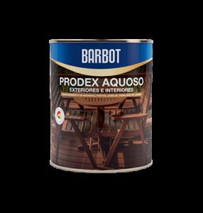 Barbot Verniz Interior E Exterior INCOLOR Prodex Aquoso 0,75 L