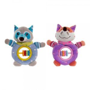 2 Brinquedos de bebé DKD Home Decor Poliéster (14 x 6 x 21 cm)