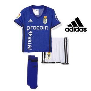 Adidas® Conjunto de Futebol Oficial Real Oviedo - 3 Peças