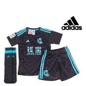 Adidas® Conjunto de Futebol Oficial Real Sociedad - 3 Peças