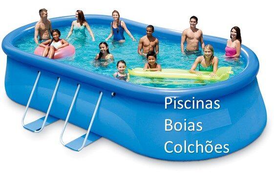 Piscinas - Boias - Colchões - Bombas de Ar