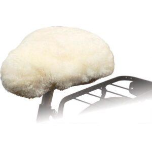 Willex Cobertura p/ selim de bicicleta pelo de carneiro natural 30120 - PORTES GRÁTIS