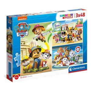 Puzzle Infantil Clementoni Paw Patrol (3 x 48 pcs)