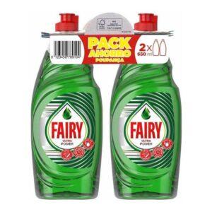 Fairy Pack Economico 2 x 650 ml  Detergente para a Louça