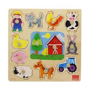 Puzzle Infantil de Madeira Diset (12 pcs)