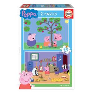 Puzzle Infantil Peppa Pig Educa (2 x 48 pcs)