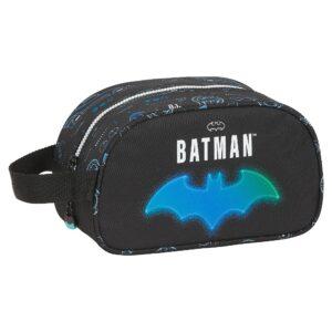 Nécessaire Escolar Batman Bat-Tech Preto (12 L)
