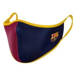 Máscara Higiénica em Tecido Reutilizável F.C. Barcelona Adulto
