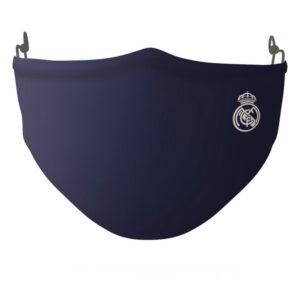 Máscara Higiénica em Tecido Reutilizável Real Madrid C.F. Adulto Azul