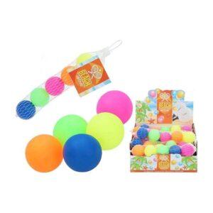 Bolas para Raquetas de Praia Multicolor (5 Pcs)