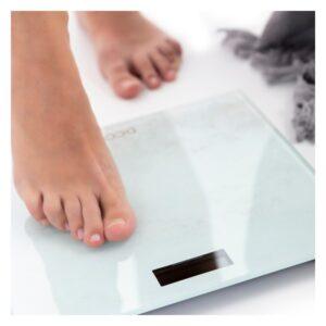 Balança digital para casa de banho Dcook Gallery Plástico Pilhas incluídas Vidro temperado