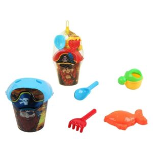 Conjunto de brinquedos de praia Pirata (5 Pcs) 117465